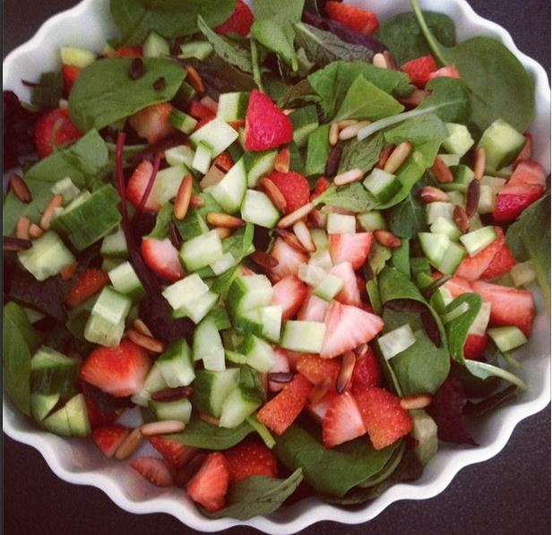 børnevenlig salat